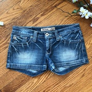 Big Star Sweet Ultra Low Rise Jean Shorts